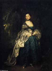 Thomas Gainsborough - Lady Alston