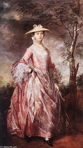 Thomas Gainsborough - Mary, condessa de Howe