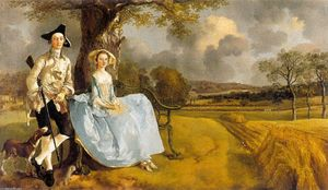Thomas Gainsborough - Senhor e sra. andrews