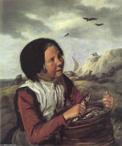 Frans Hals - Fisher Girl