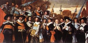 Frans Hals - Oficiais e Sargentos do St George Guard Civic Empresa