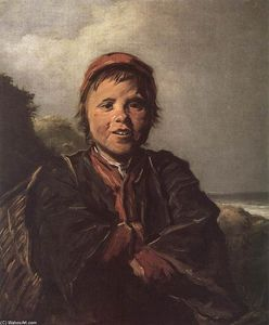 Frans Hals - A Fisher Boy
