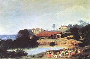 Frans Post - Hacienda
