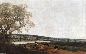 Frans Post - O Carro de Bois