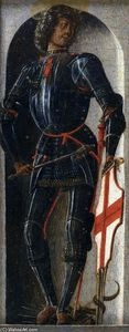 Ercole De' Roberti - Griffoni Polyptych: St George