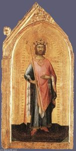 Simone Martini - st ladislaus , King of Hungary