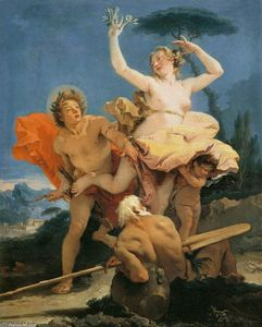 Giovanni Battista Tiepolo - Apollo e Daphne