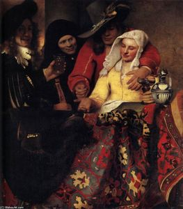 Jan Vermeer - O Procuress