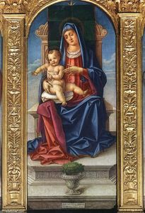 Bartolomeo Vivarini - Madonna Enthroned
