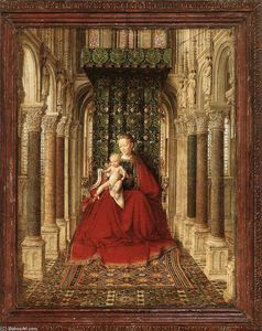 Jan Van Eyck - pequeno triptych painel central