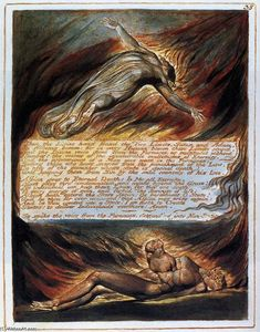 William Blake - A Descida de Cristo
