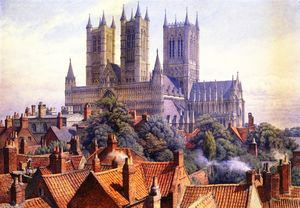 Charles Herbert Moore - Lincoln Catedral