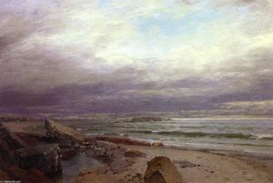 William Trost Richards - o leões de cornualha