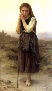 William Adolphe Bouguereau - A Pequena Pastora