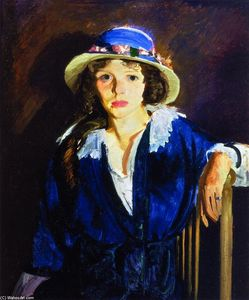 George Wesley Bellows - Madeline Davis