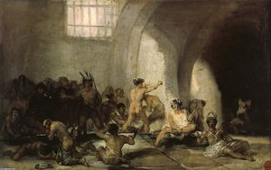 Francisco De Goya - O Madhouse