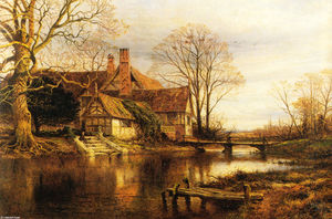 Benjamin Williams Leader - A Moated