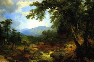 Asher Brown Durand - Monumento Montanha, Berkshires