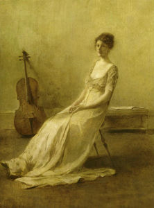 Thomas Wilmer Dewing - o músico