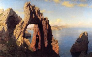 William Stanley Haseltine - Intersecção ambiente natural Arco no capri