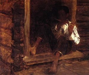 Jonathan Eastman Johnson - Negro Boy