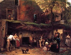 Jonathan Eastman Johnson - negro` vida no sul