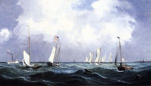 Fitz Hugh Lane - Nova York Yacht Clube Regata