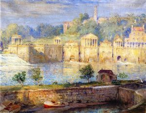 Colin Campbell Cooper - Old Waterworks, Fairmount