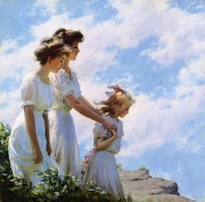 Charles Courtney Curran - No Cliff