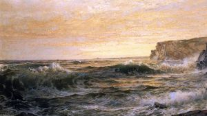 William Trost Richards - No Coast Maine