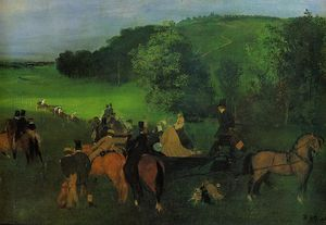 Edgar Degas - No Racecourse