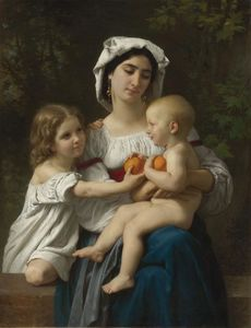 William Adolphe Bouguereau - Os Laranjas