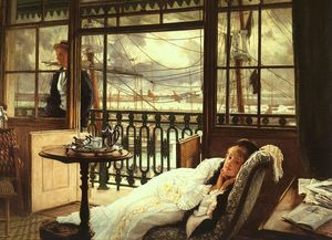 James Jacques Joseph Tissot - a passagem tempestade