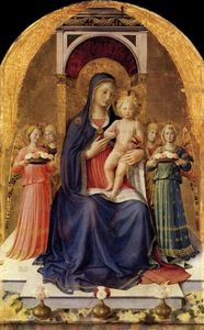 Fra Angelico - Perugia Retábulo painel central