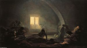 Francisco De Goya - Plague Hospital