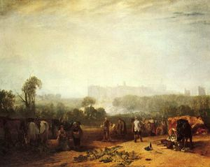 William Turner - Lavrar-se Nabos, perto de Slough
