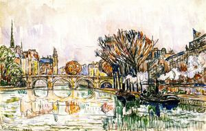Paul Signac - O Pont Neuf, Paris