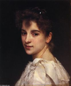 William Adolphe Bouguereau - Retrato de Gabrielle Drienza