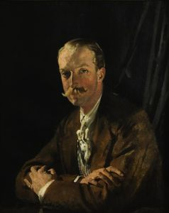 William Newenham Montague Orpen - Retrato de Geoffrey, Quarta Marquês de Headfort