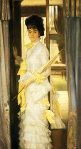 James Jacques Joseph Tissot - Retrato da senhorita Lloye