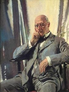 William Newenham Montague Orpen - retrato do sr francis henry edward livesay