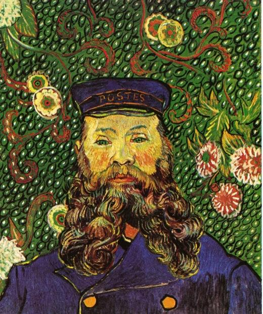 Retrato do carteiro joseph roulin, 1889 por Vincent Van Gogh (1853-1890, Netherlands) | Copy Pintura | WahooArt.com