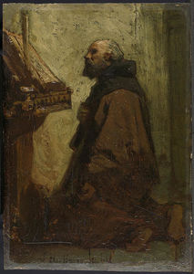 Jacob Henricus Maris - Praying Monk