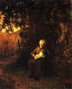Jonathan Eastman Johnson - a calma hora