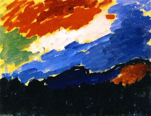 Alexej Georgewitsch Von Jawlensky - Red Cloud