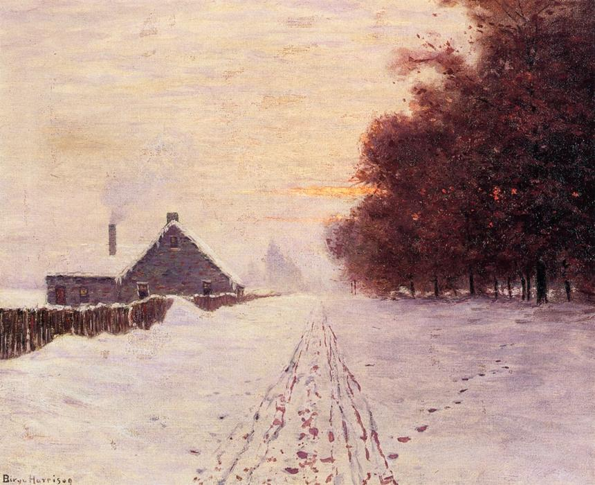 Red Oaks por Lowell Birge Harrison (1854-1929, United States) | Copy Pintura | WahooArt.com
