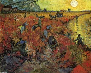 Vincent Van Gogh - A Red Vinyard