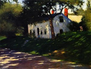 Dennis Miller Bunker - Roadside Cottage, Medfield, Massachusetts.