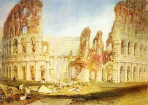 William Turner - Roma: O Coliseu