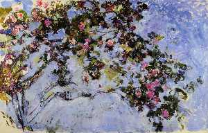 Claude Monet - A Rosa Bush